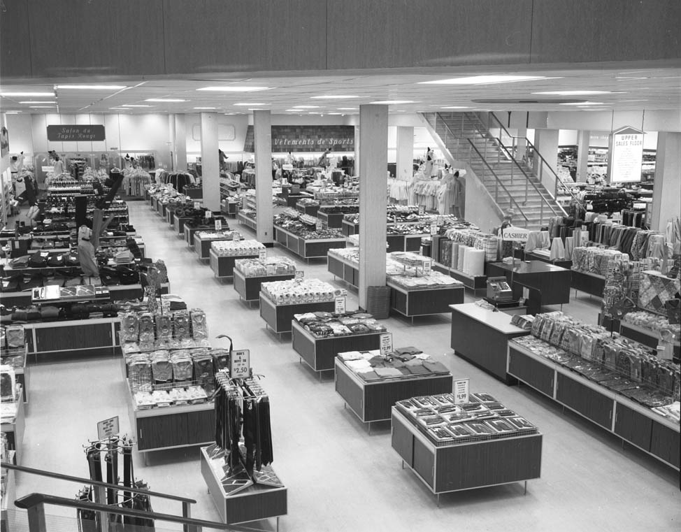 F W Woolworth Store Interior